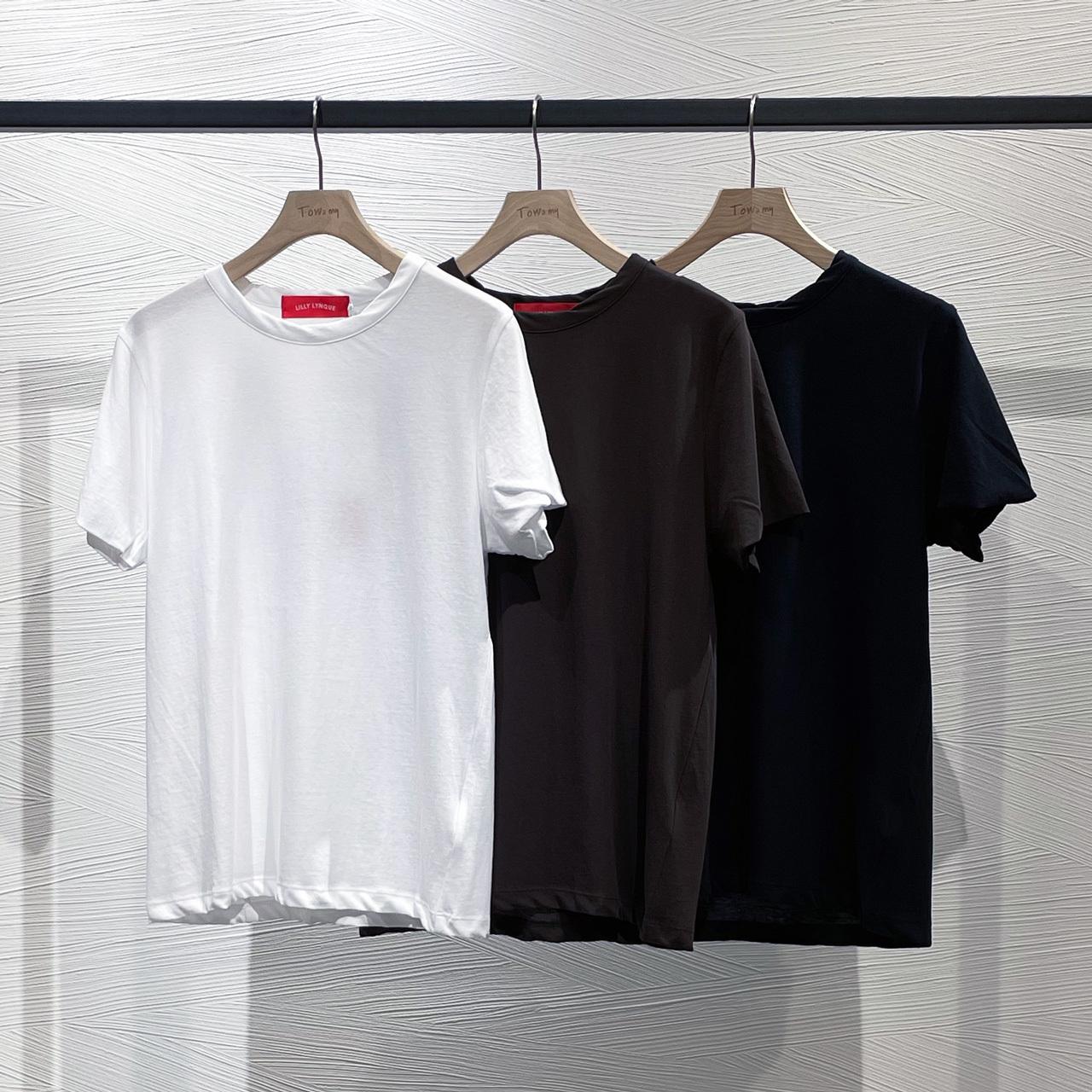 FRESCA クルーネックTシャツ