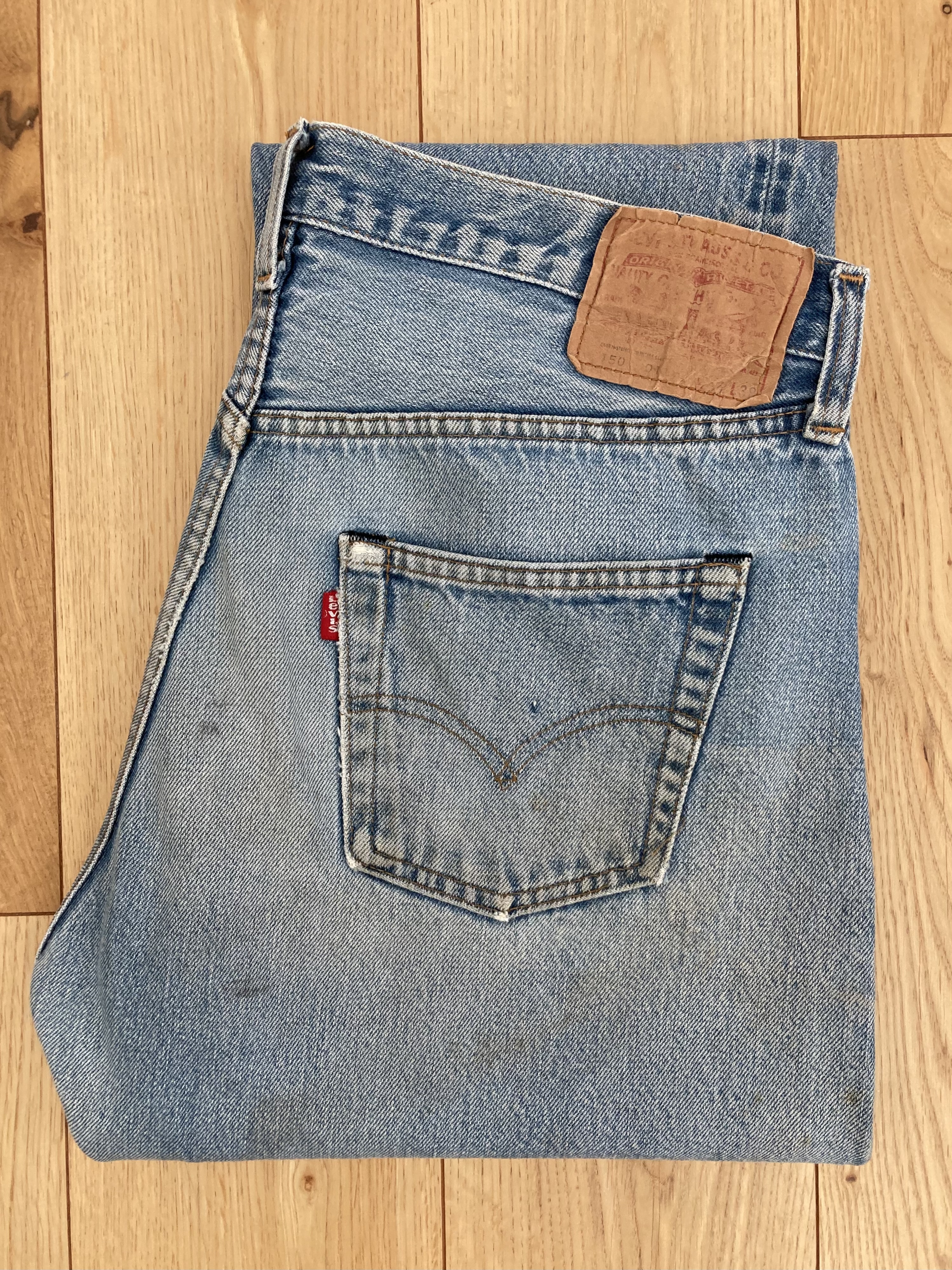80's Levi's 501 Red Line W34 inch