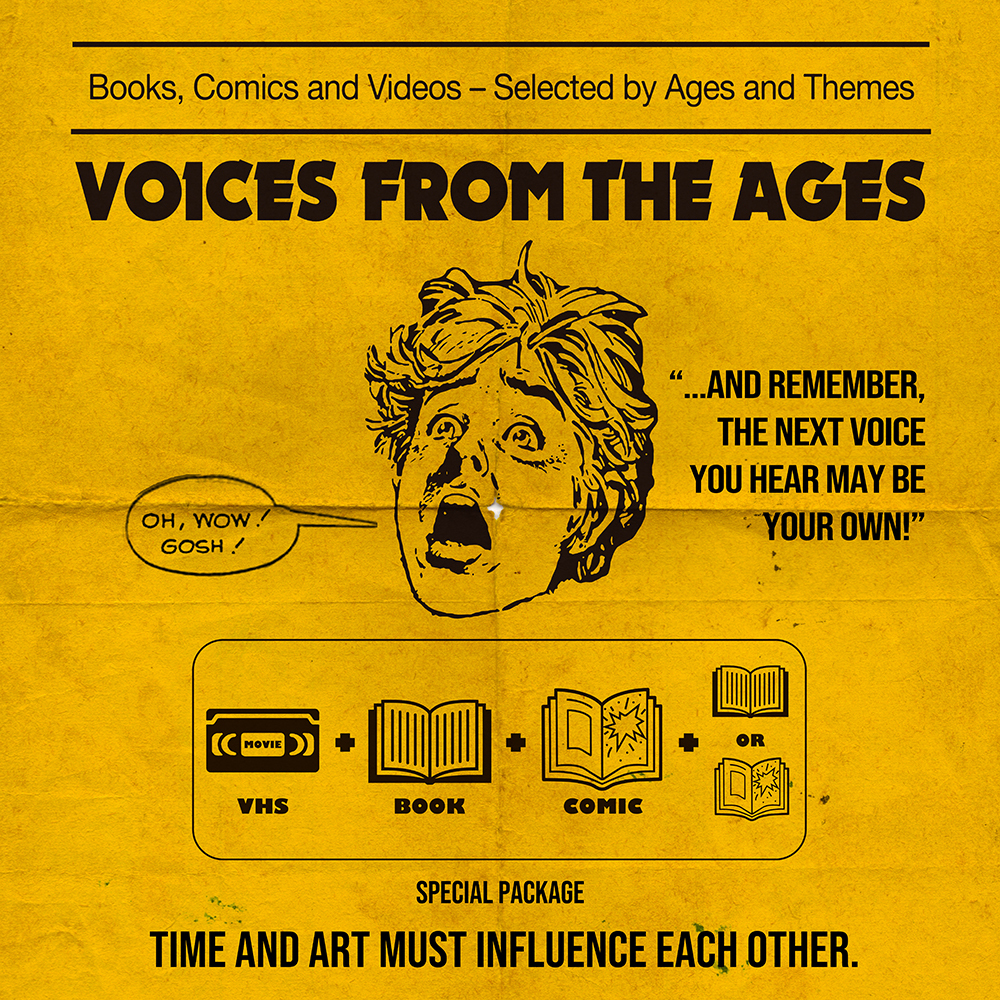 """VOICES FROM THE AGES - LATE 80's """"ADVENTURE"""""""