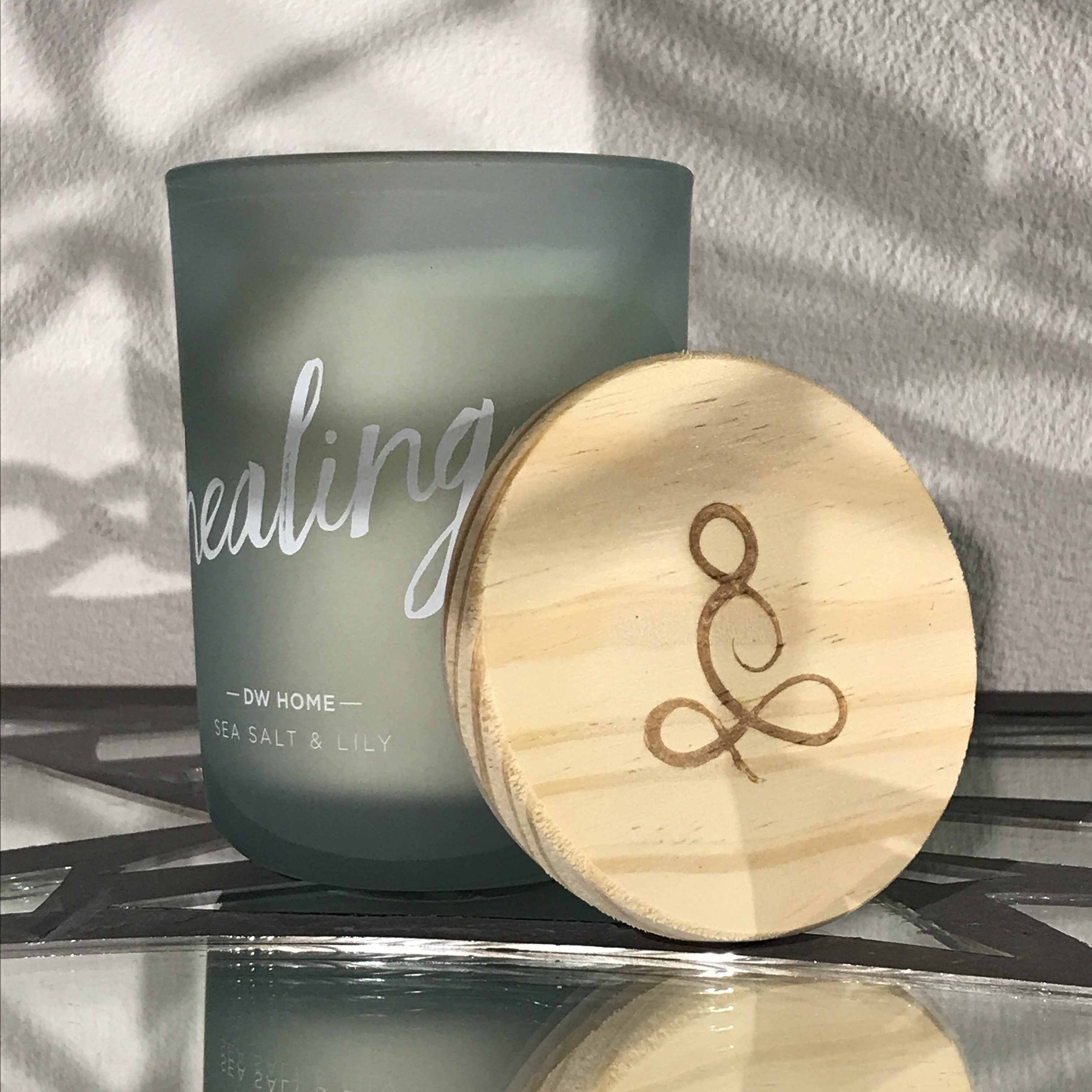 【DW Home Candles】healing (SEA SALT & LILY)