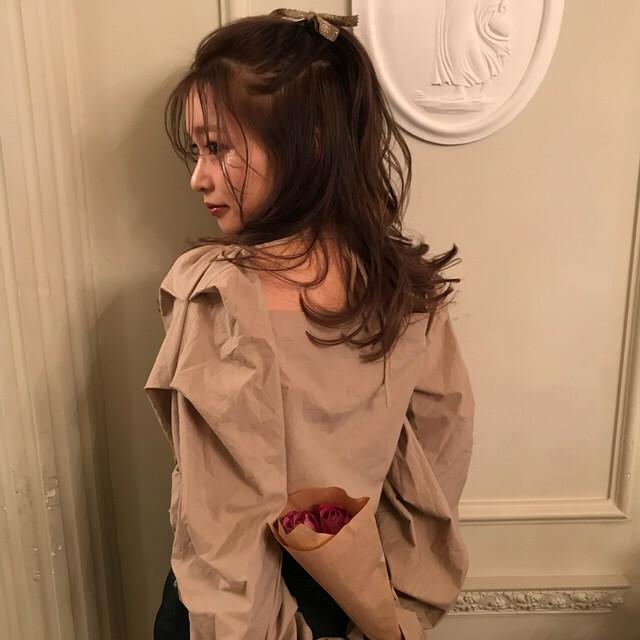5/17[ 田村様専用ページ ] square blouse (beige)