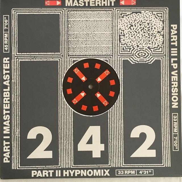 【12inch・蘭盤】Front 242 / Masterhit