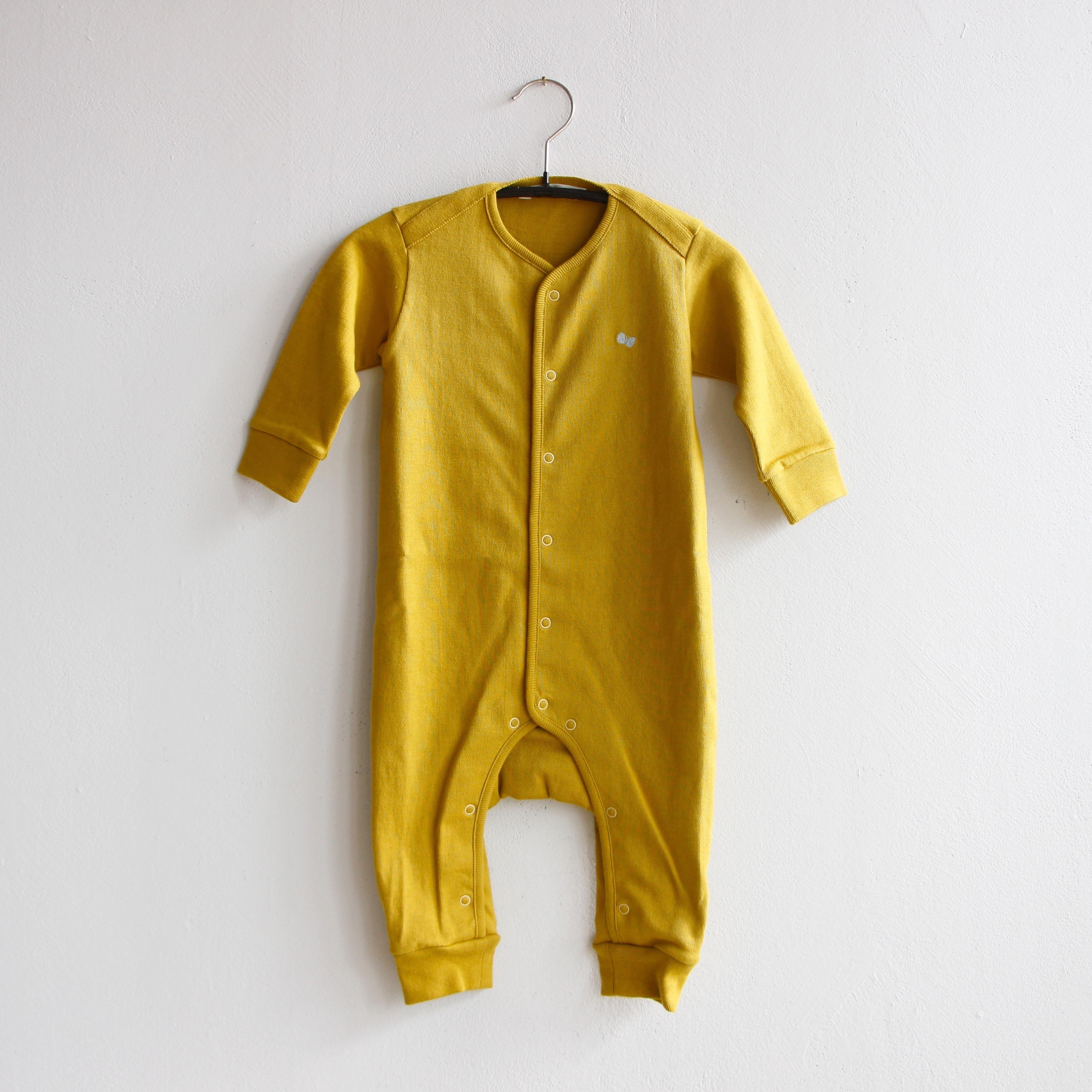 《mina perhonen 2020AW》zutto ロンパース / mustard / 70cm
