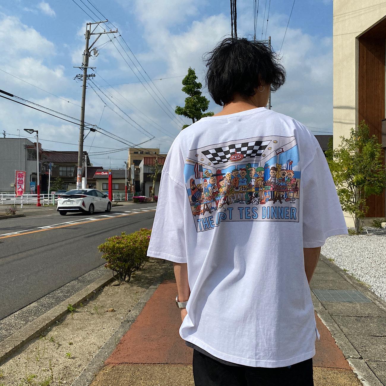 The Endless Summer/ザエンドレスサマー TES POP ART UNISEX BIG TーSHIRT ALLSTAR  SD-1574400