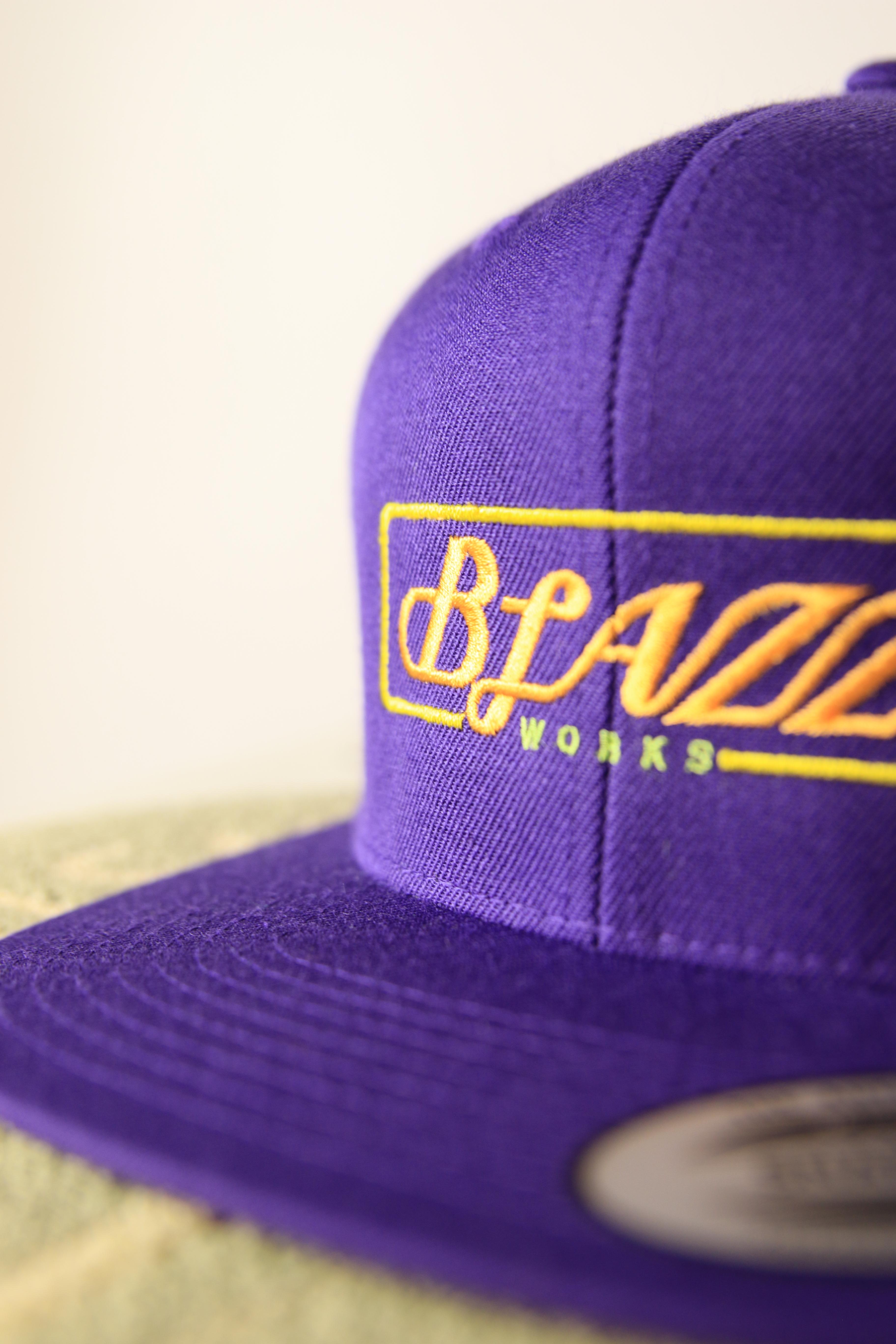 Neon sign B.B CAP [LOS ANGELS]