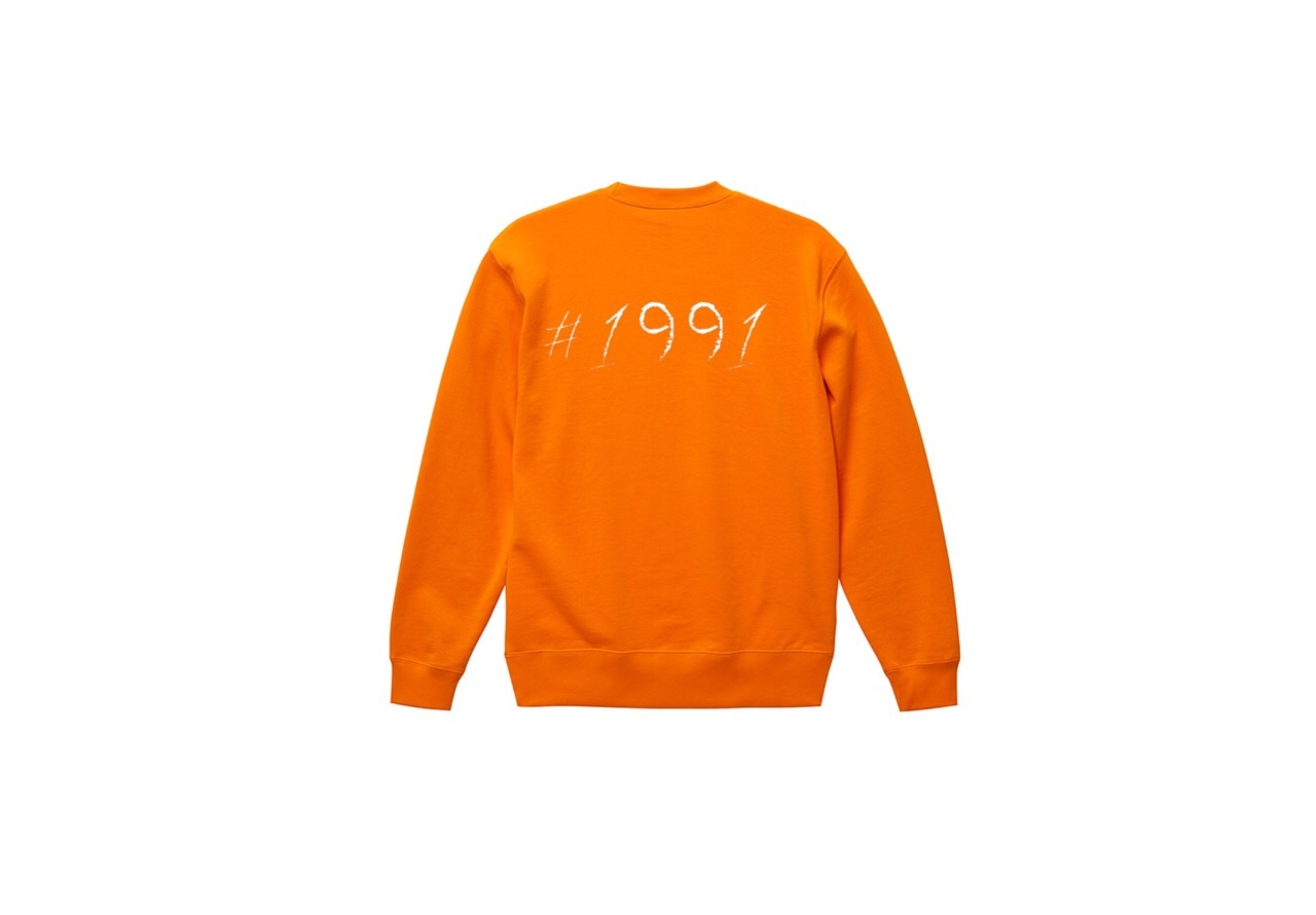 1991 big logo sweat (or/wht)