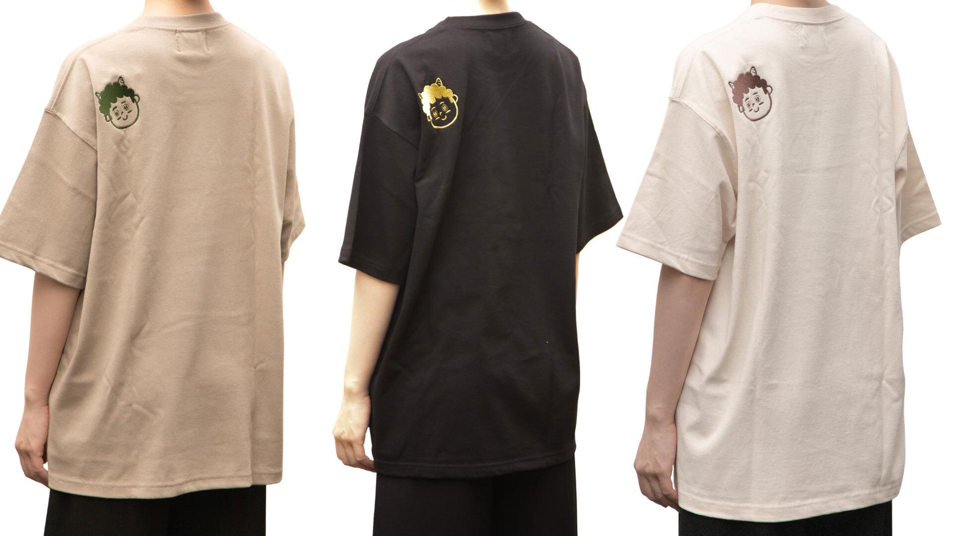【7月2週目以降発送分】暮らしと珈琲のTシャツ(刺繍)