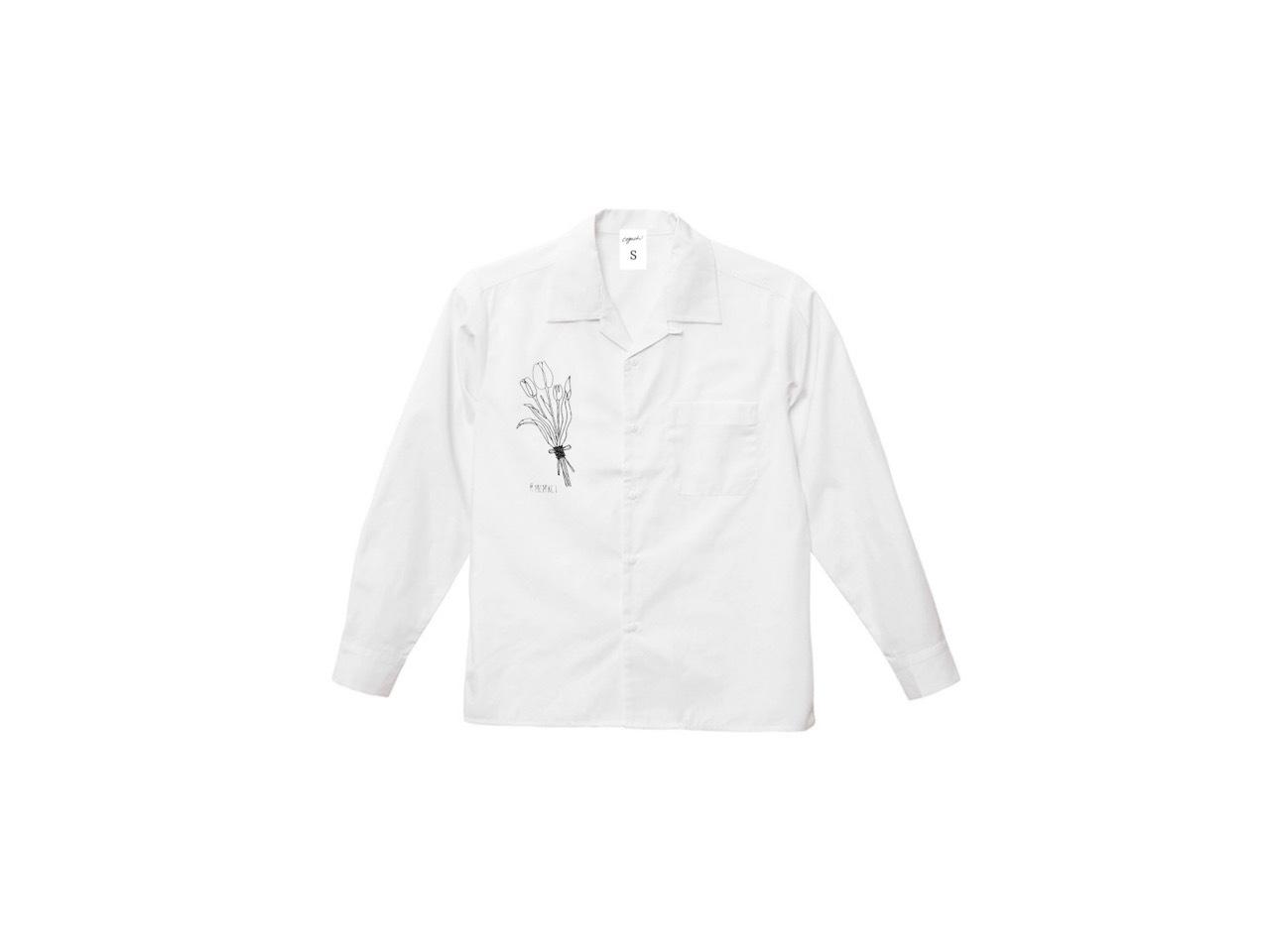 coguchi MCMXCI Tulips shirts (WH)
