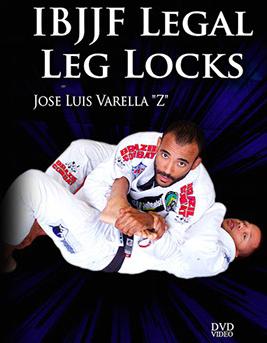 ホセ・バレラ IBJJFリーガルフットロック DVD|ブラジリアン柔術教則DVD