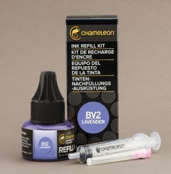 Chameleon Pen Ink Refill 25ml Lavender BV2 (カメレオンペン 詰替え用インク BV2)