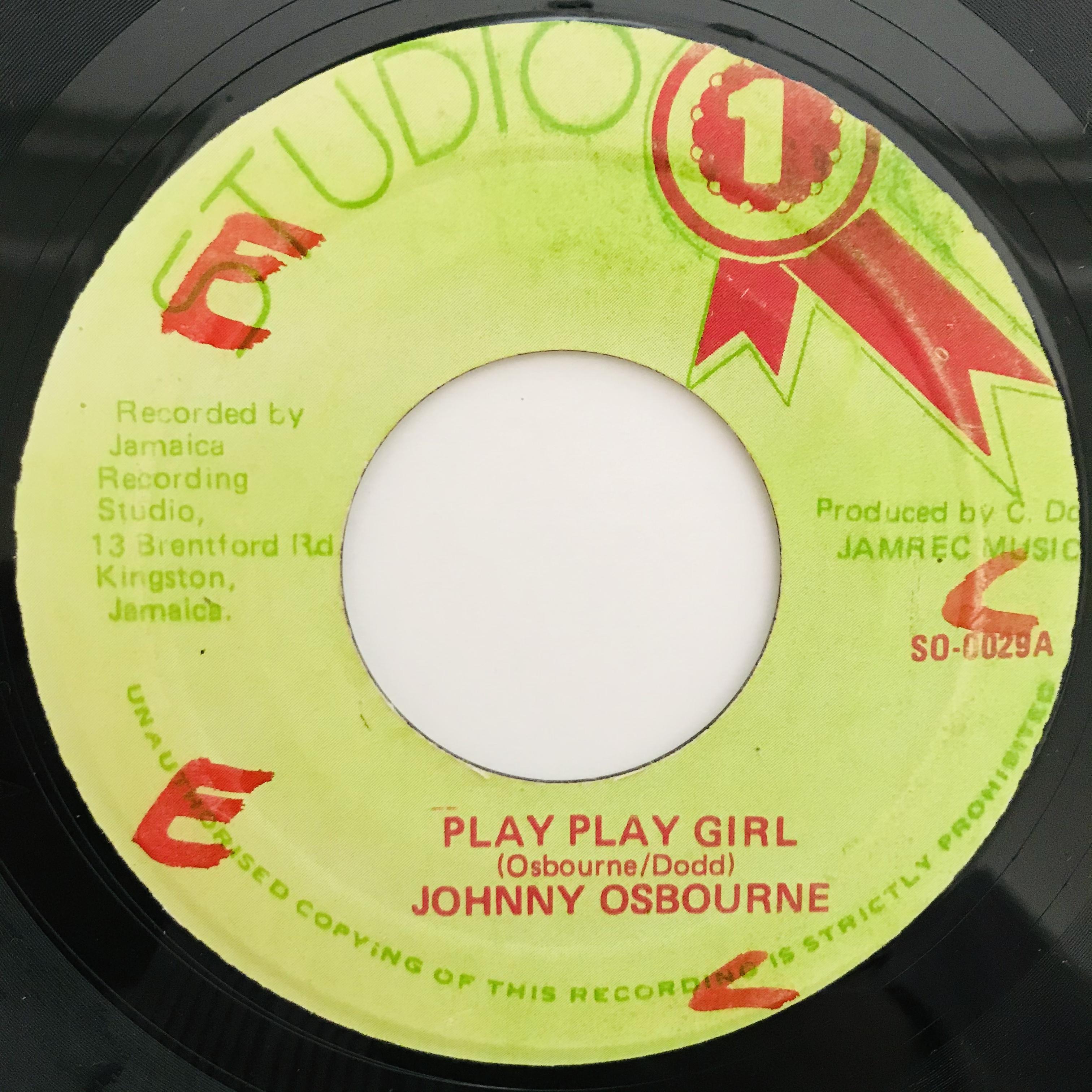 Johnny Osbourne - Play Play Girl 【7-11012】
