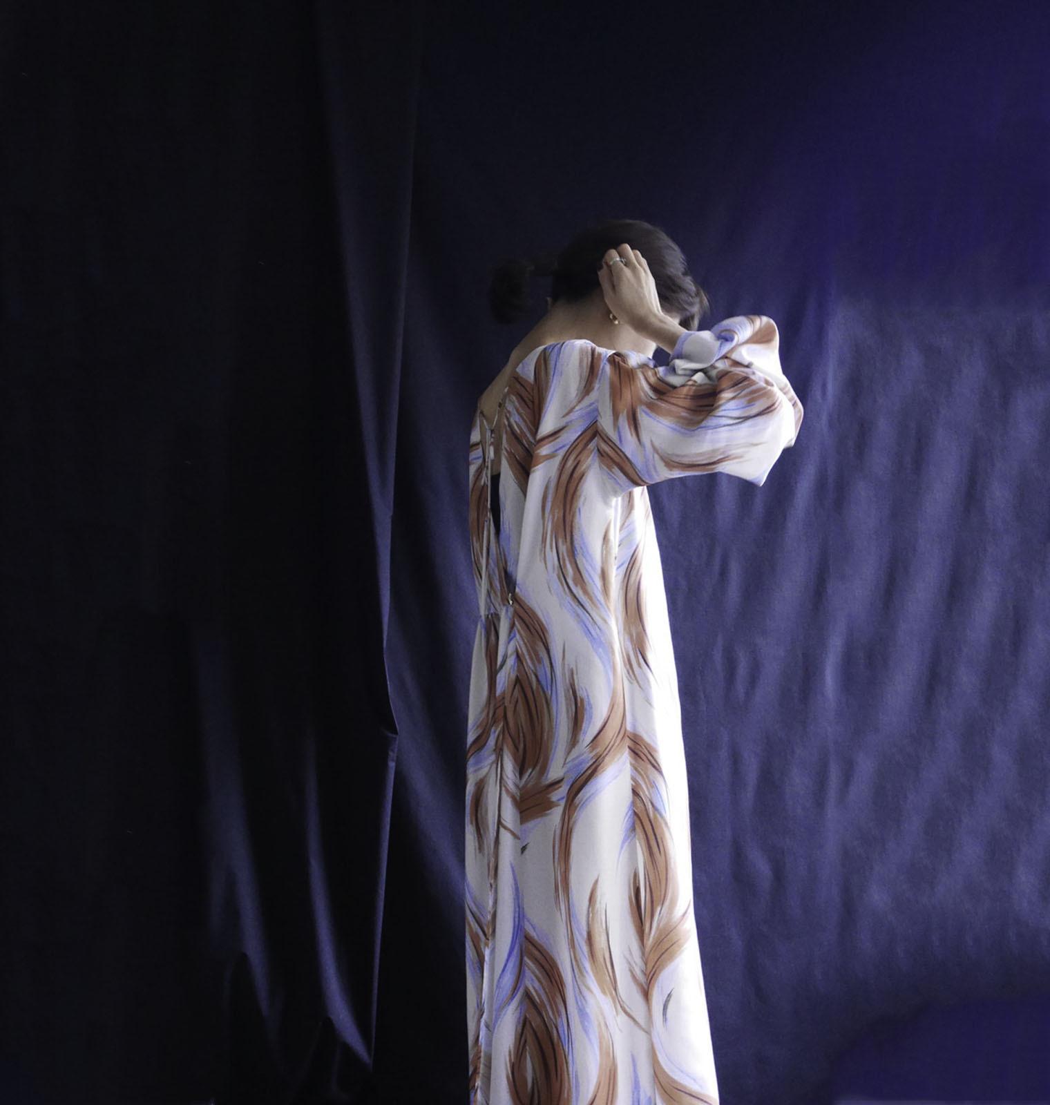 PANTURE KAFTAN DRESS