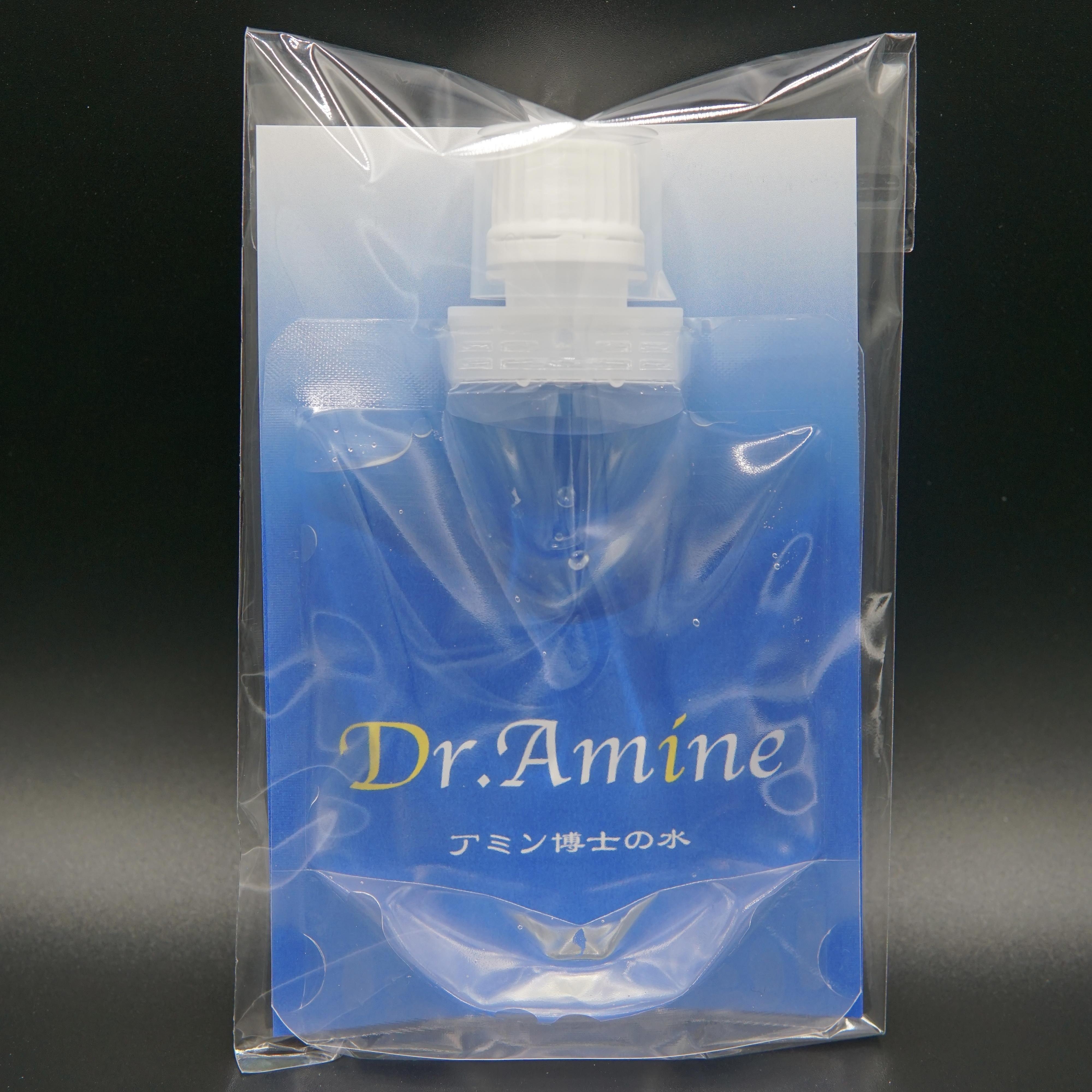 Dr.Amine アミン博士の水 100mlパウチ 計量10mlカップ付き