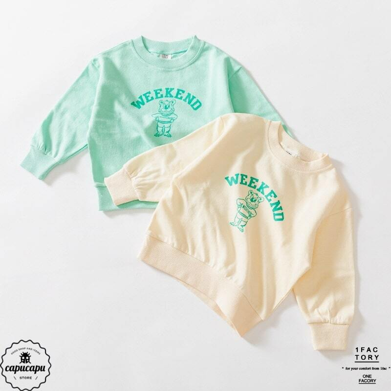 «sold out» mint bear sweat 2colors ミントベアーウェット