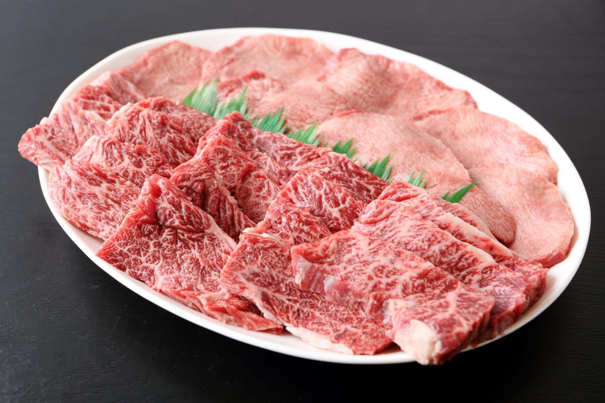 山形牛 一人前 焼肉 BBQ 山形牛メイン300g(山形牛もも、山形牛カルビ、US牛タン)
