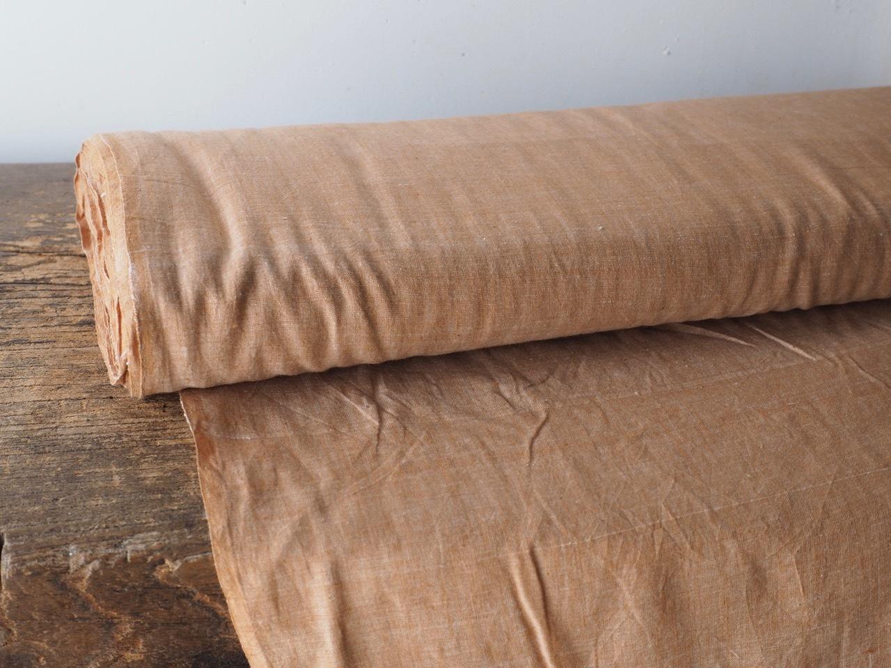bengal fabric b19 brown chambray