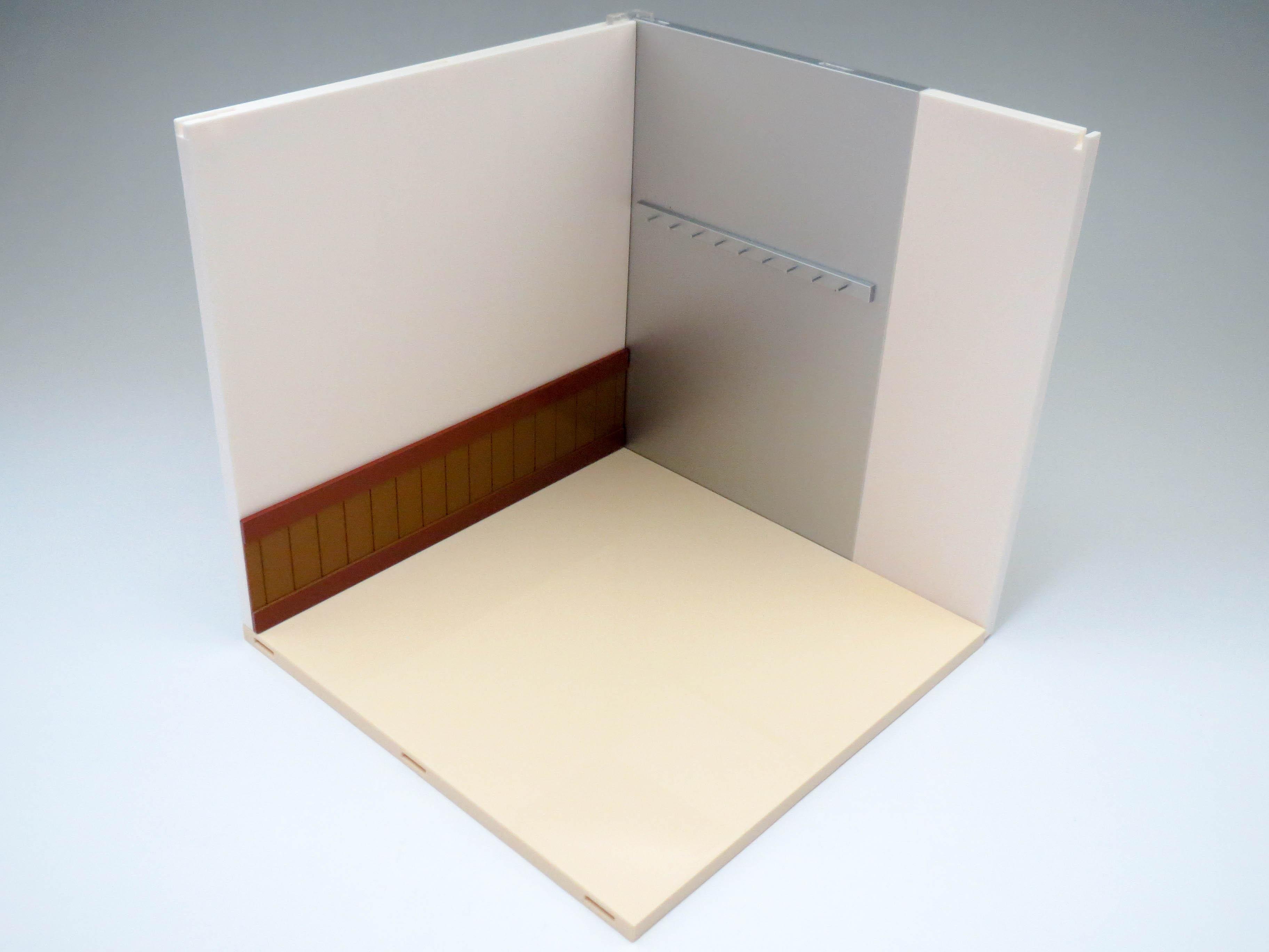 ねんどろいどプレイセット #05 ワグナリアB 厨房セット 壁と床