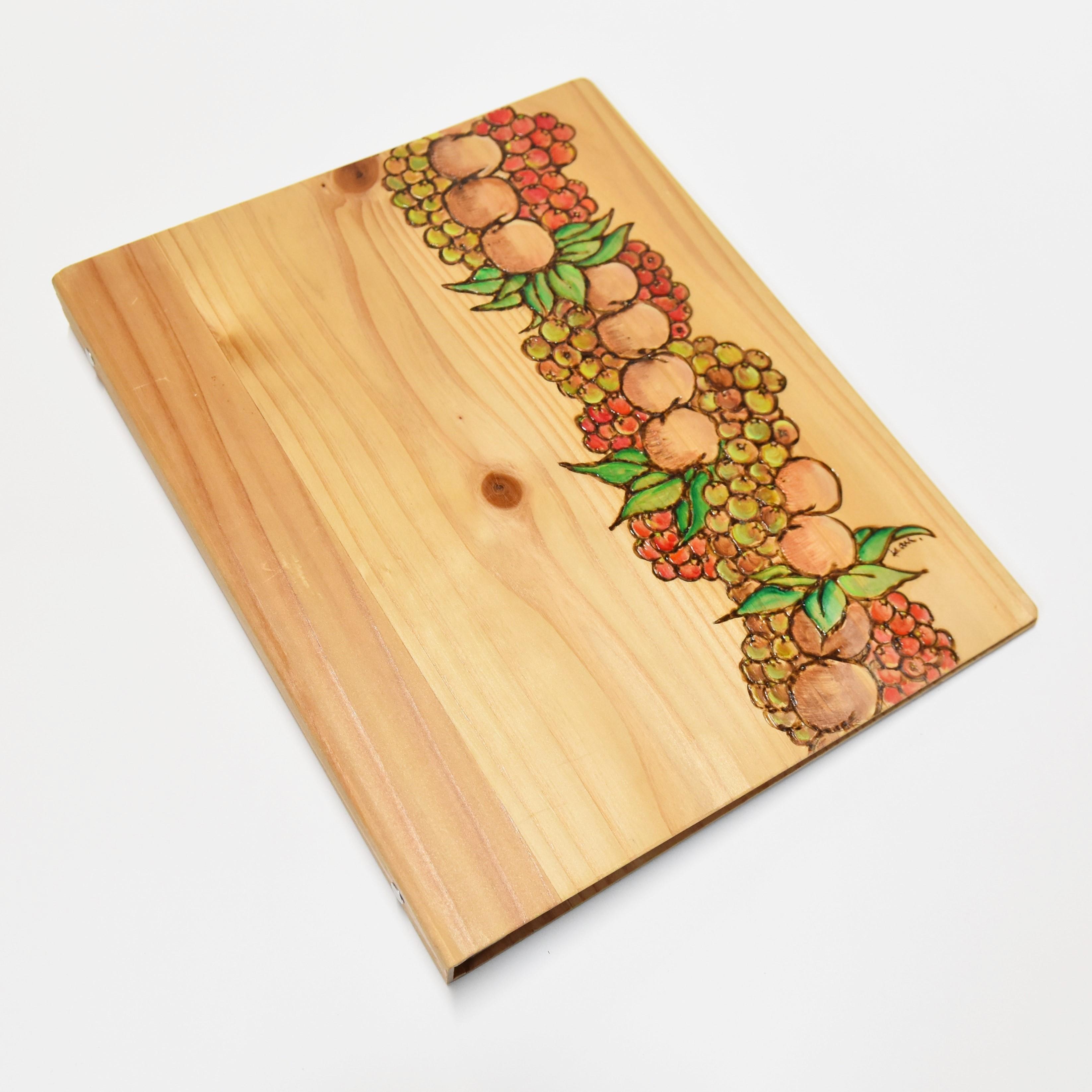 Wood File A4 【Kukui&Ohelo Lei 】