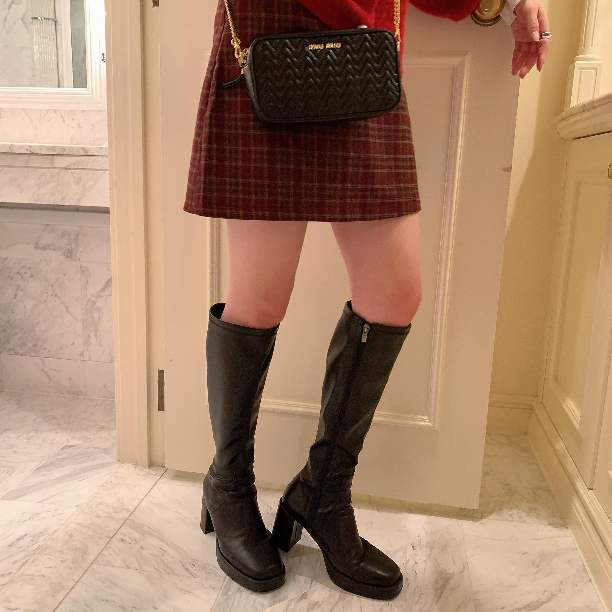 【LAST2】tartan check skirt