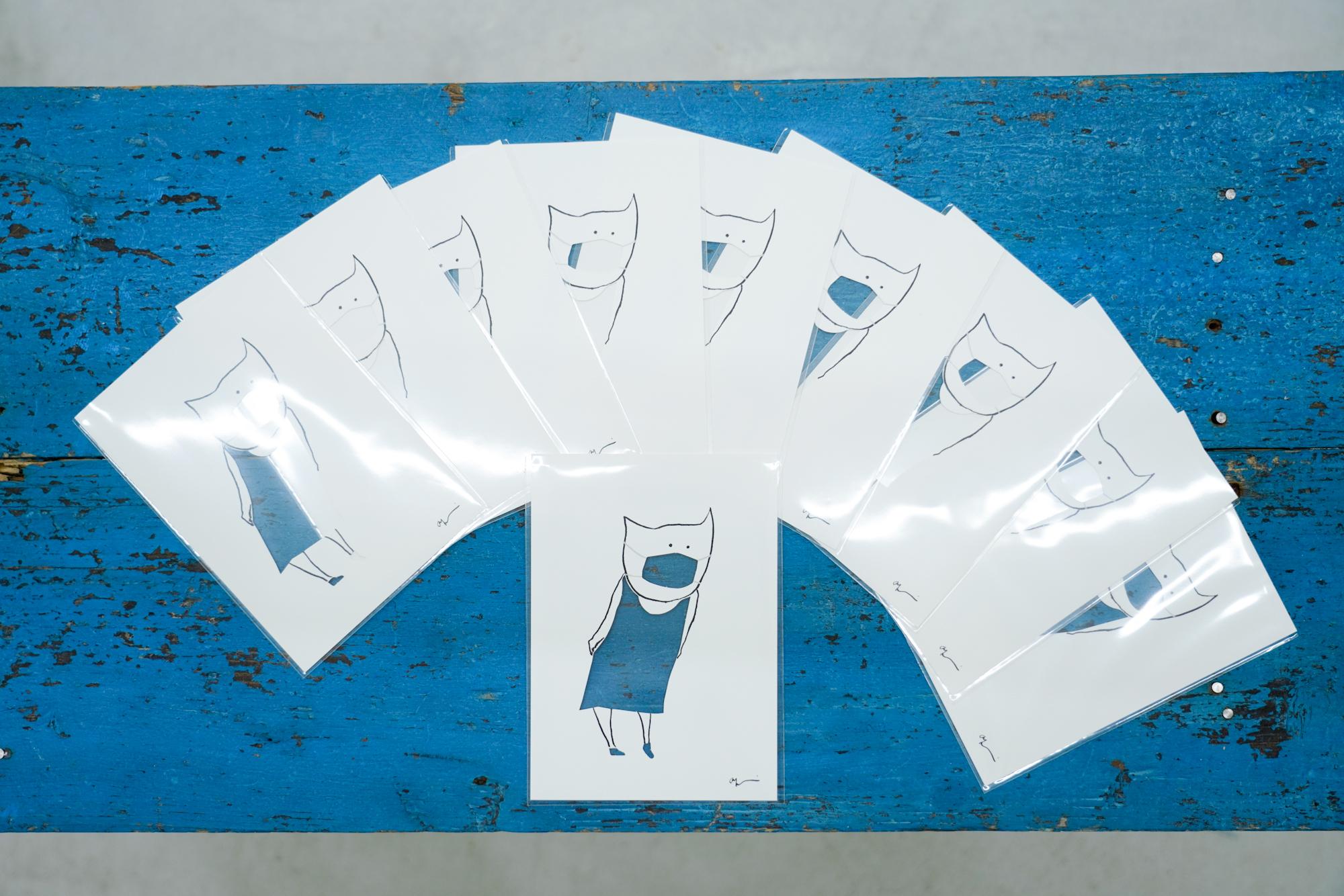アートカード(切り抜きカードのみ) 10枚セット