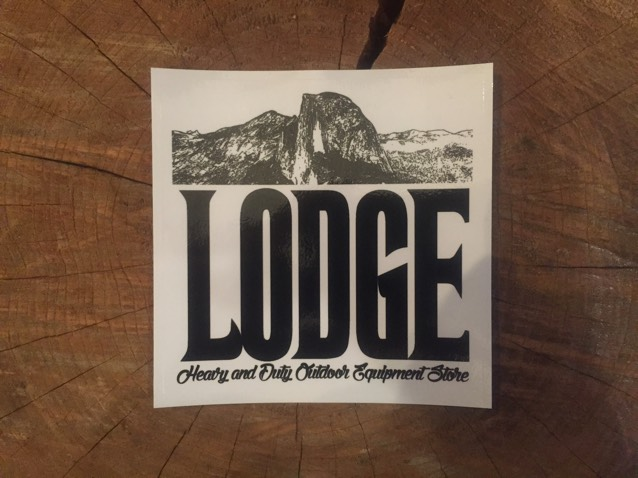 LODGE オリジナル ステッカー