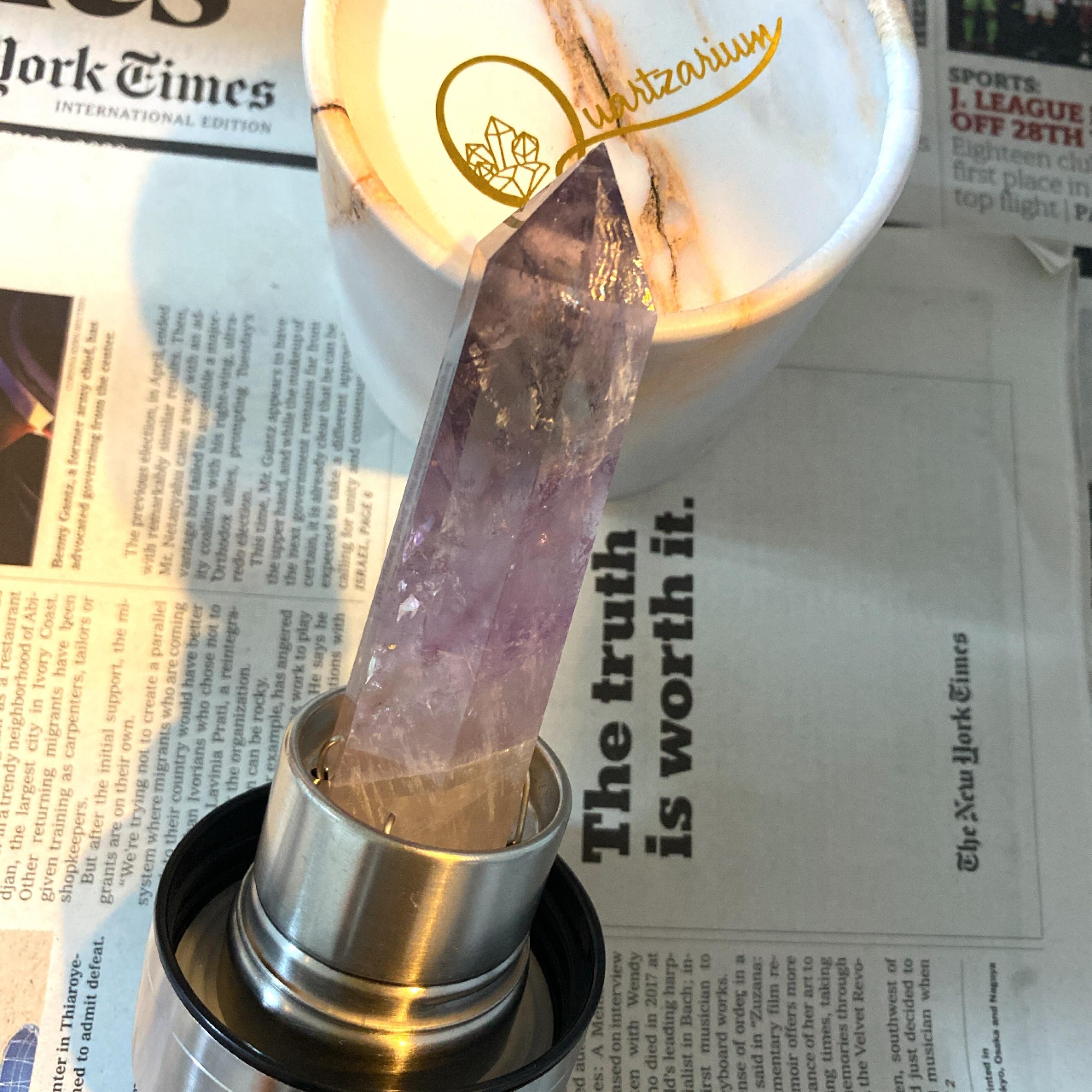 Quartz Crystal Bottle / アメジスト