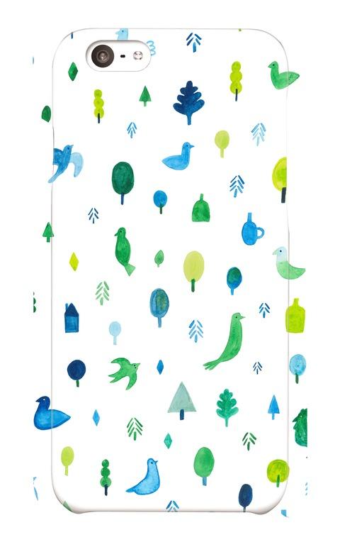 【iPhone6 / 6sケース】BIRD FOREST