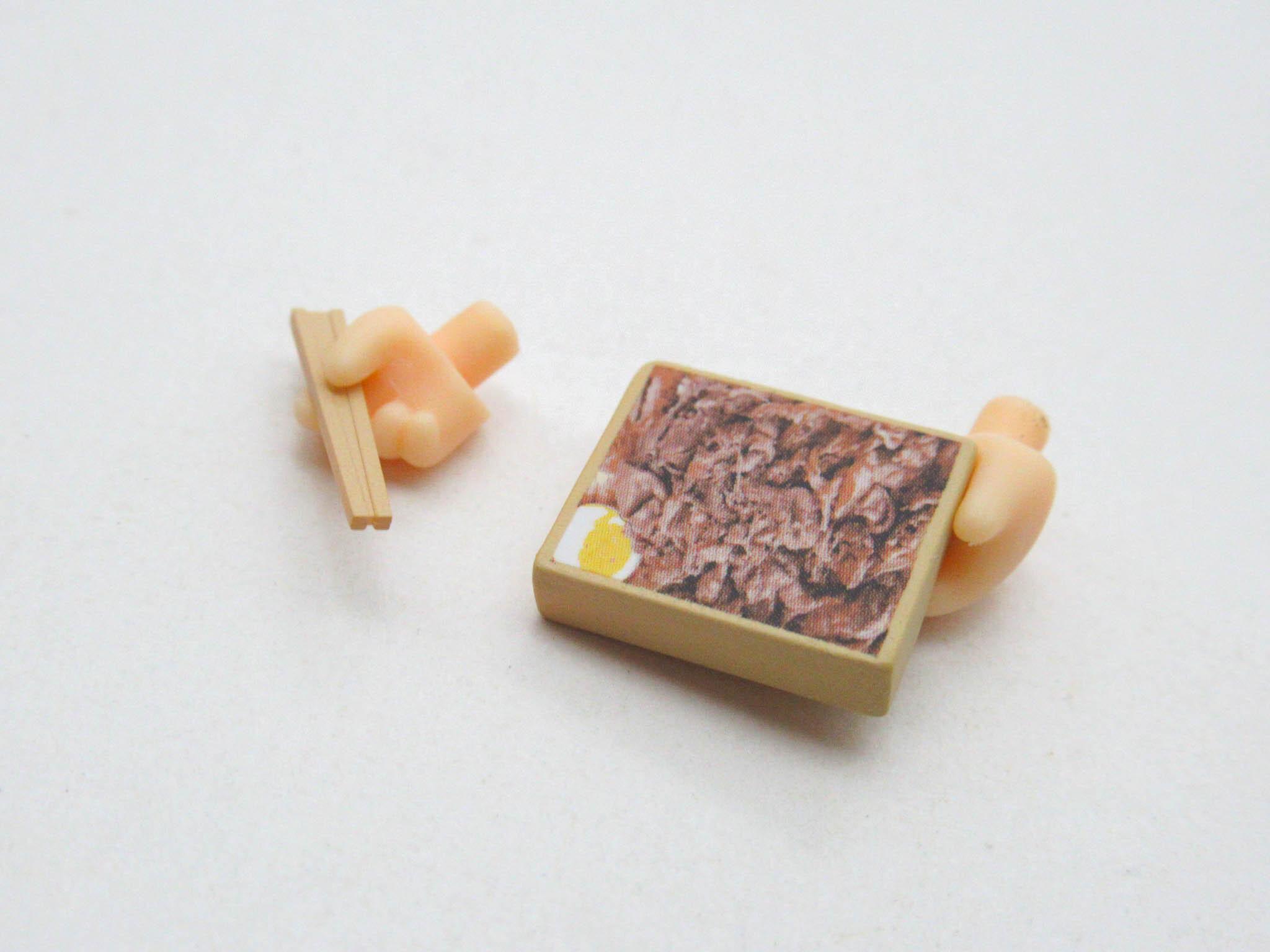 【1541】 煉獄杏寿郎 小物パーツ お弁当とお箸 ねんどろいど