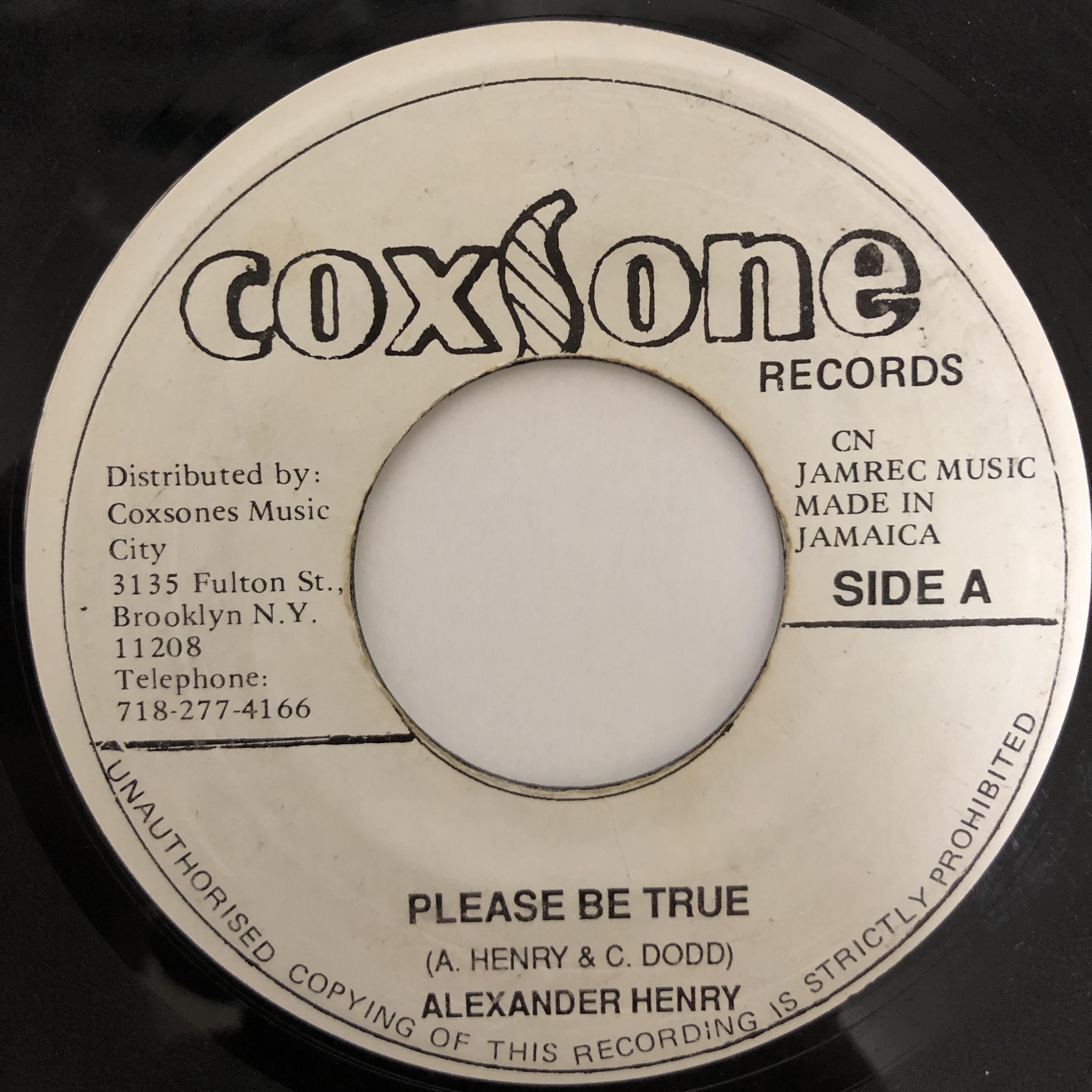 Alexander Henry - Please Be True【7-20429】