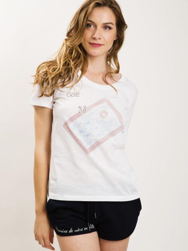 フランス製Tシャツ『OSE BLANC』