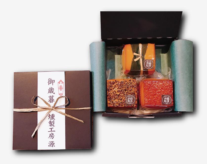 【選べる熨斗/贈り物】スモークチーズ3種セット