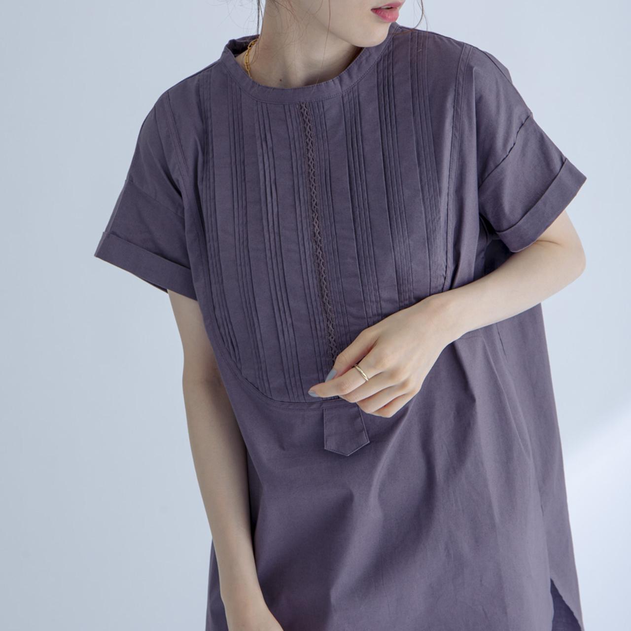 バンドカラーシャツ FLH91170