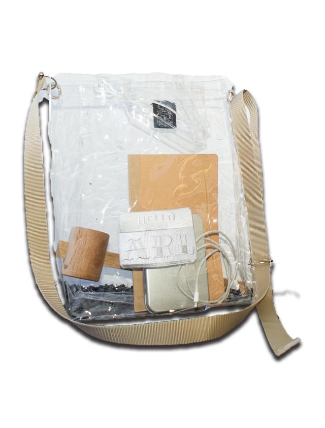 LOGO PATCH 2WAY PVC BAG