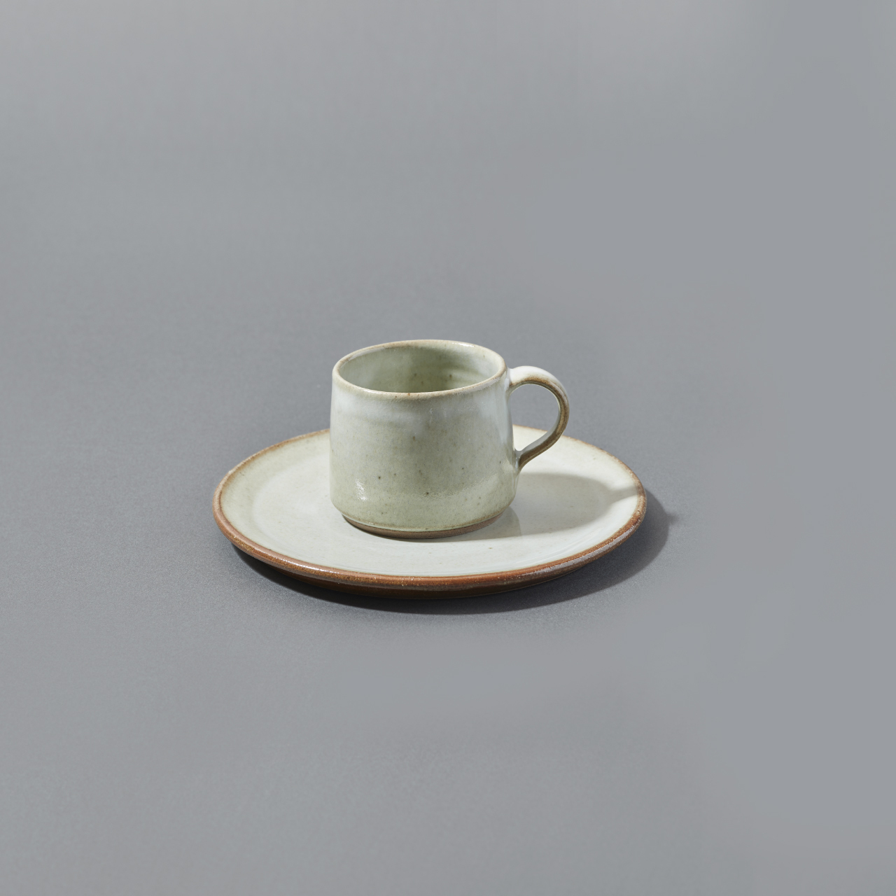 CUP&PLATE / WHITE