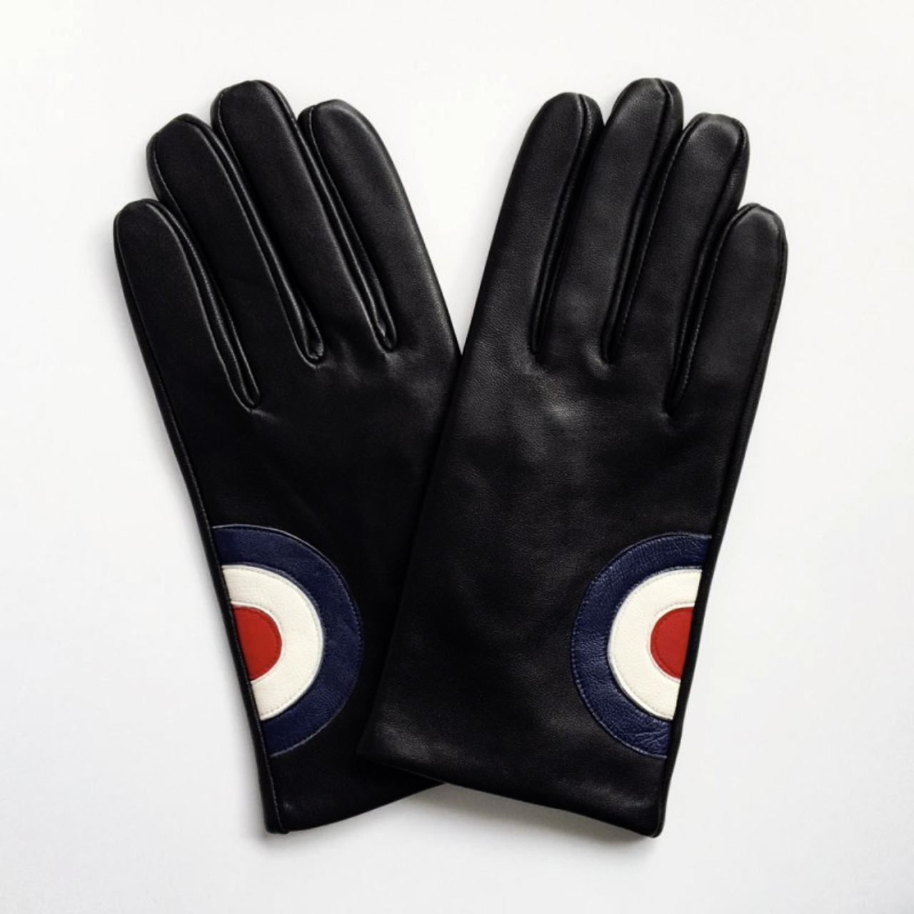 Frederick Sheppard | Mod Target Leather Gloves - Black