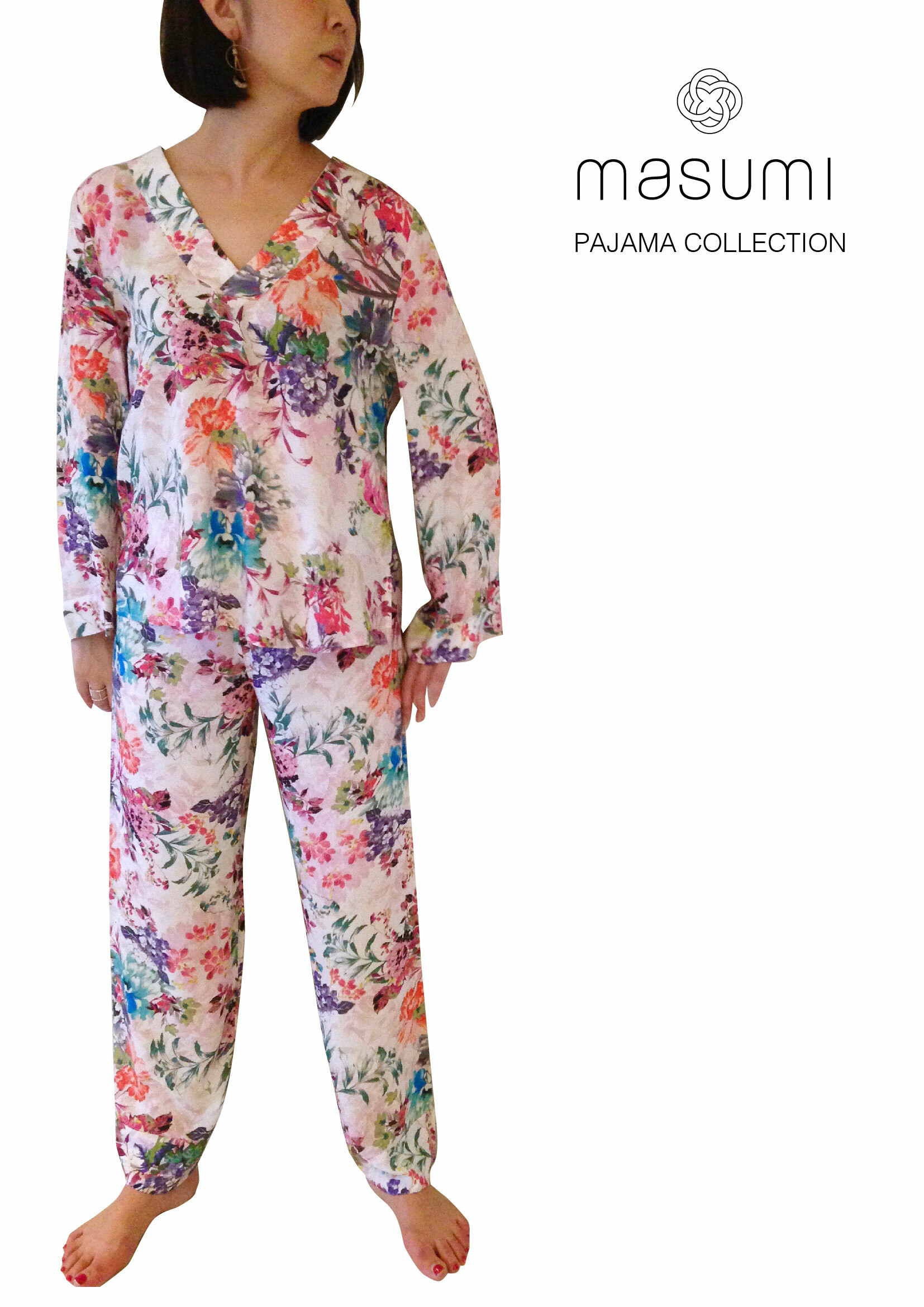 Pajama set up Holiday Provance  パジャマセットアップ ホリデープロヴァンス