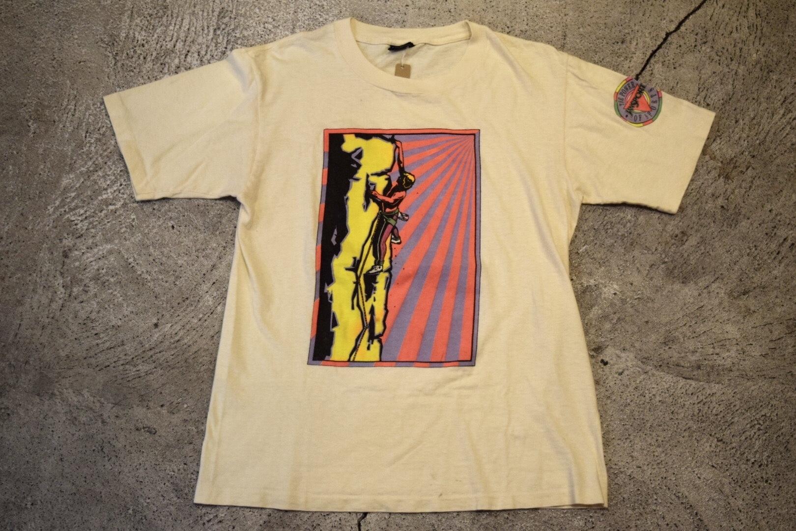 USED 80s JANSPORT T-shirt -Medium T0244