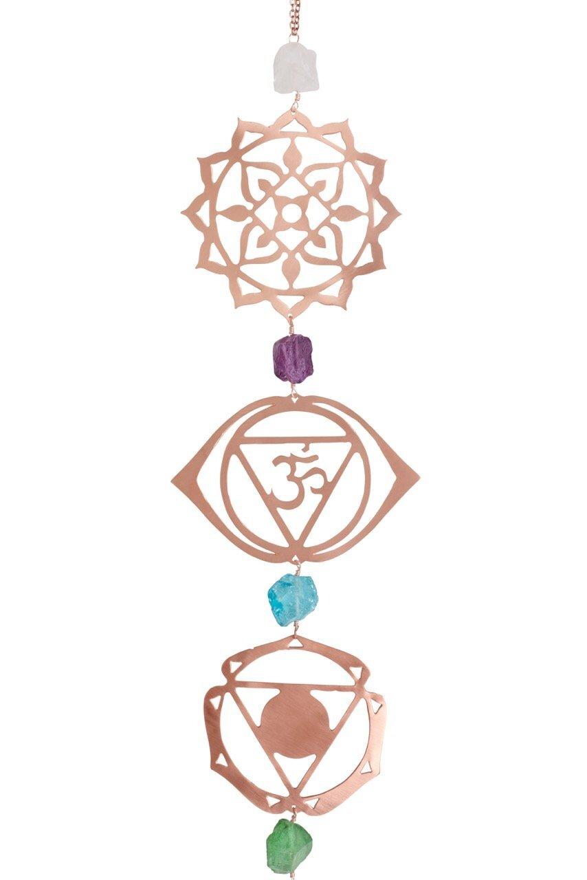 Chakra Yoga Wall Hanging Décor チャクラヨガウォールハンギングデコレーション