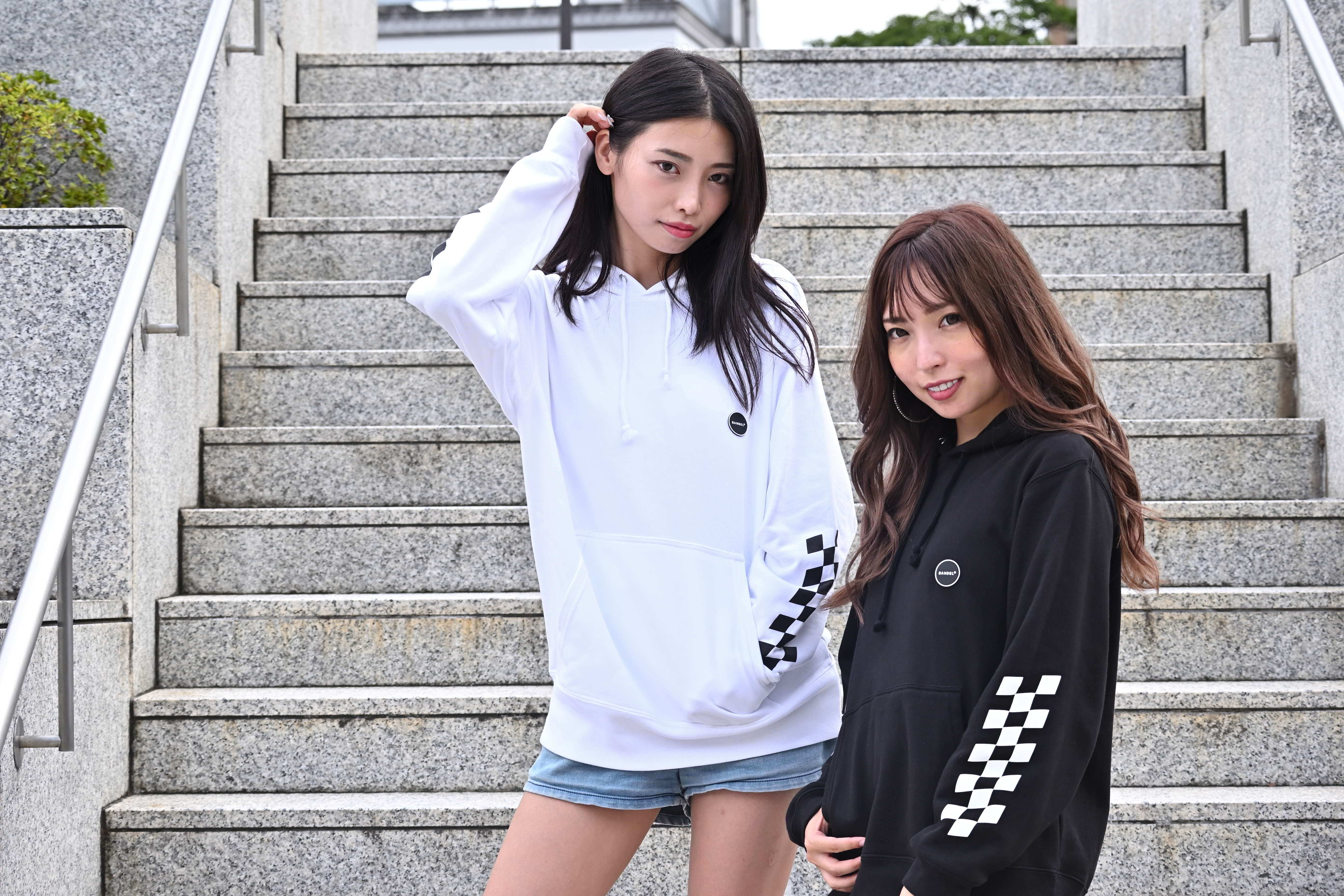 HMR officialパーカー with BANDEL