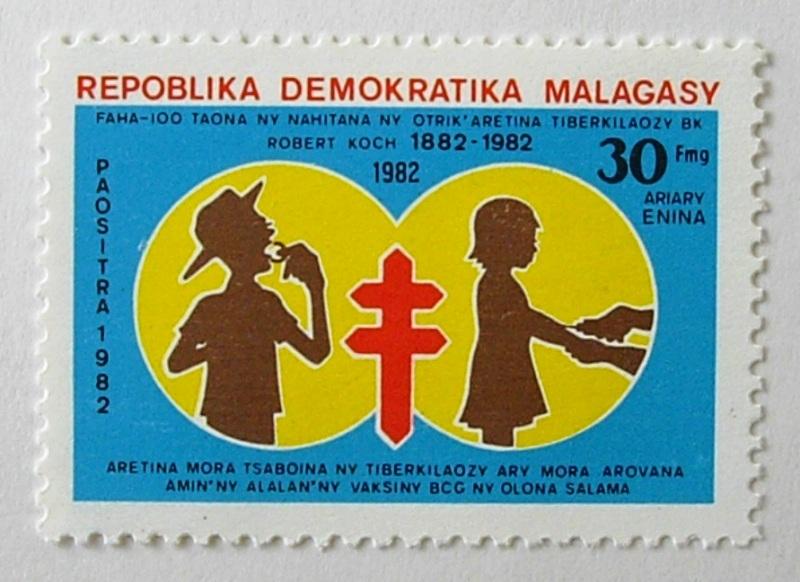 複十字 / マダガスカル 1982