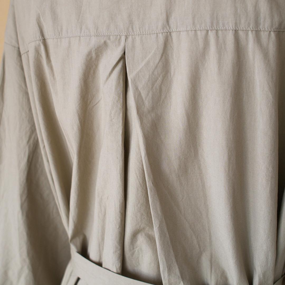 Gauze# ガーゼ G454 shoulder button antique one piece ショルダーボタンアンティークワンピース ベージュ