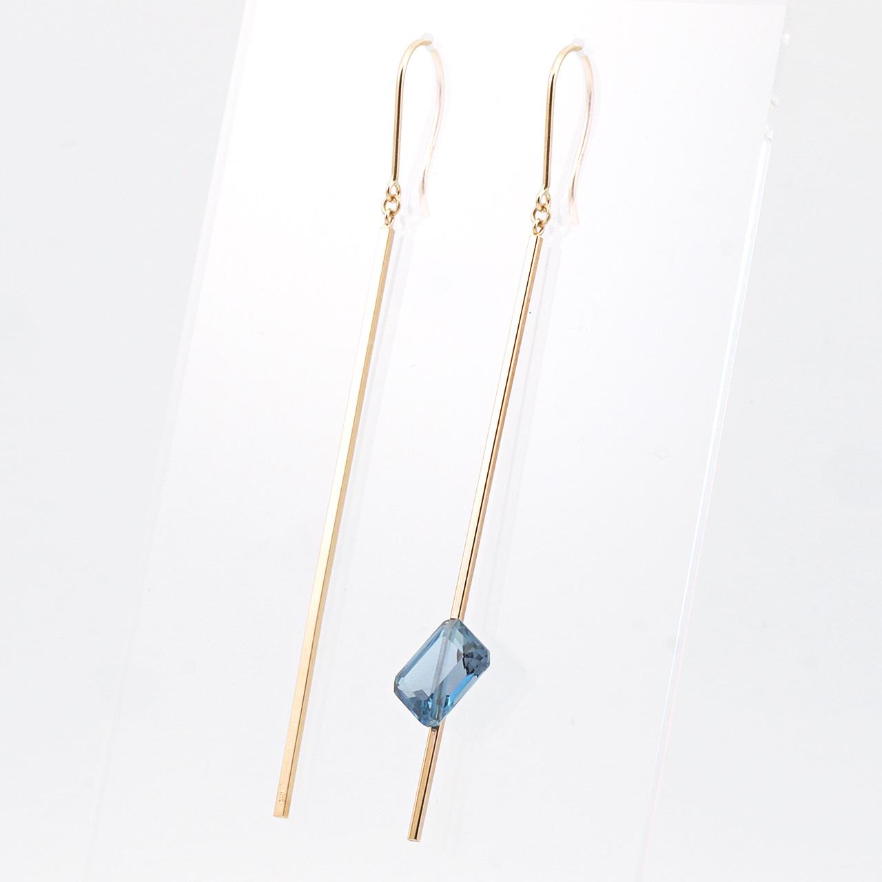 Stick pierced earrings / Hook