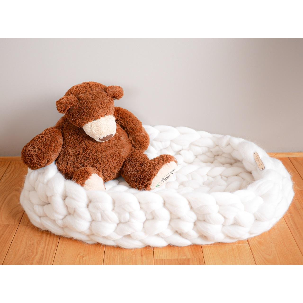 Chunky Merino Wool Baby Nest