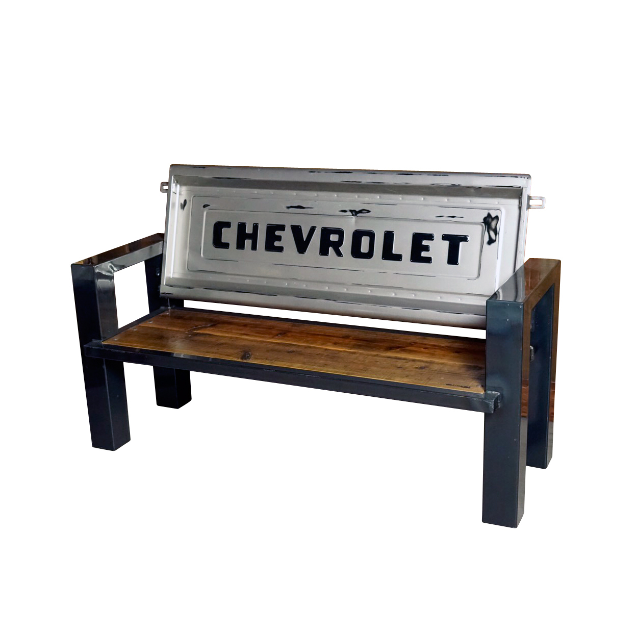 M-LINE CHEVROLET TAILGATE BENCH 【WOOD】テールゲートベンチ