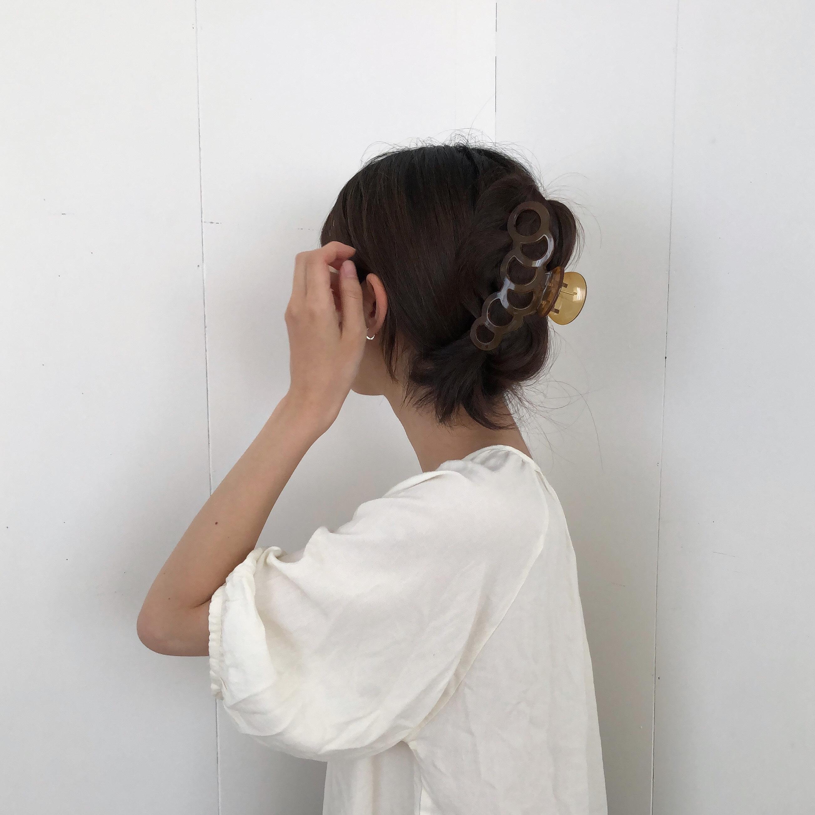 poem hair clip(3 colors)