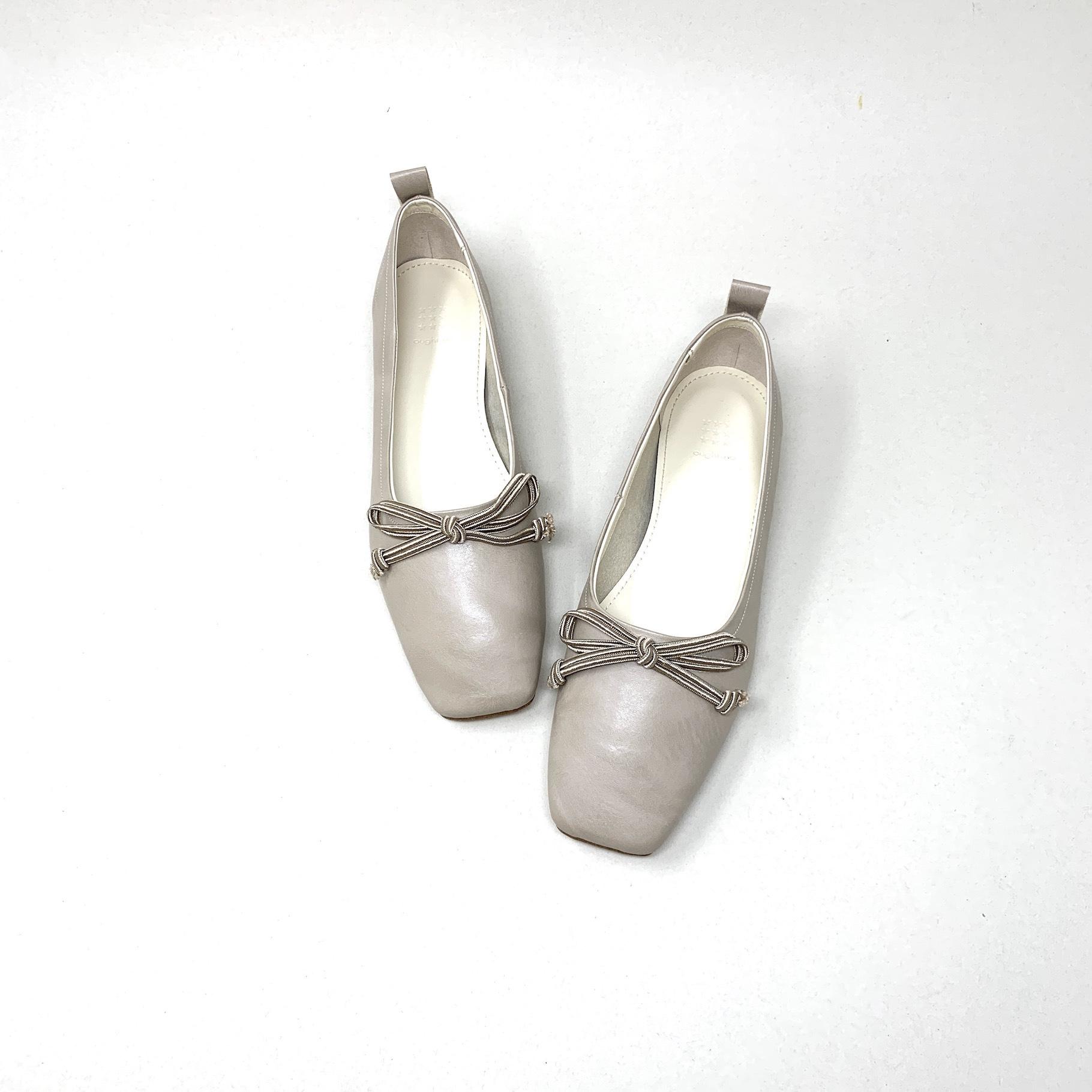 Code Ribbon flat Ballet|コードリボンフラットバレエ_#ot81353s|【Ought=na】|madeinjapan|日本製|