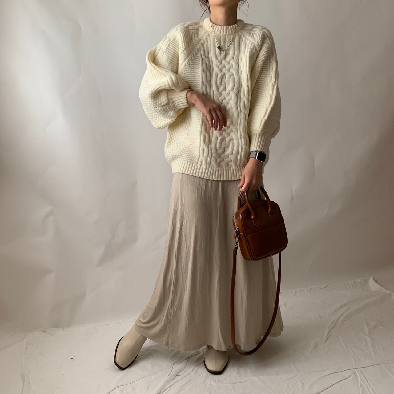 【asyu】volume sleeve knit《last1》
