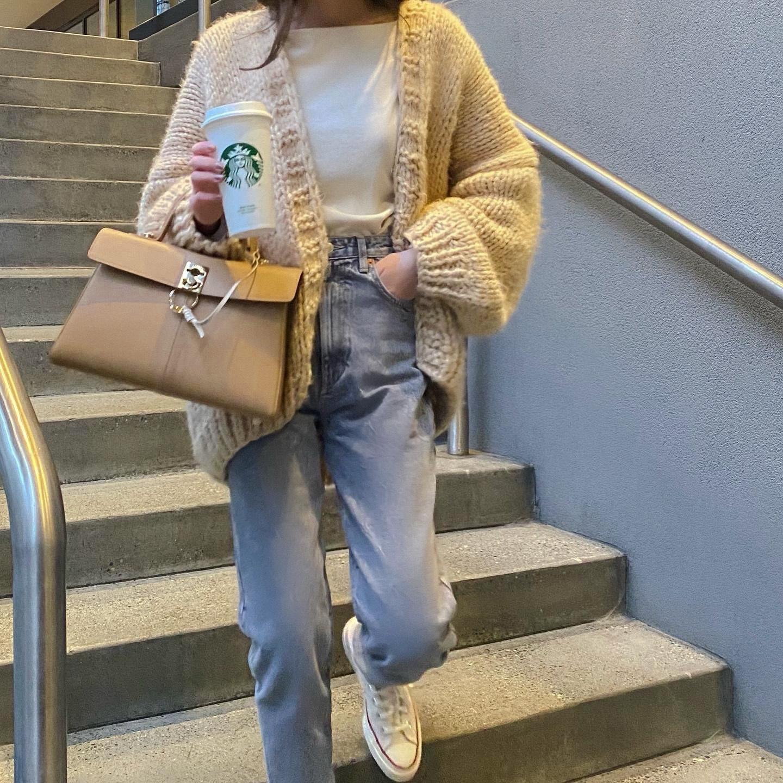 【LAST1】DAYNYC handmade knit cardigan