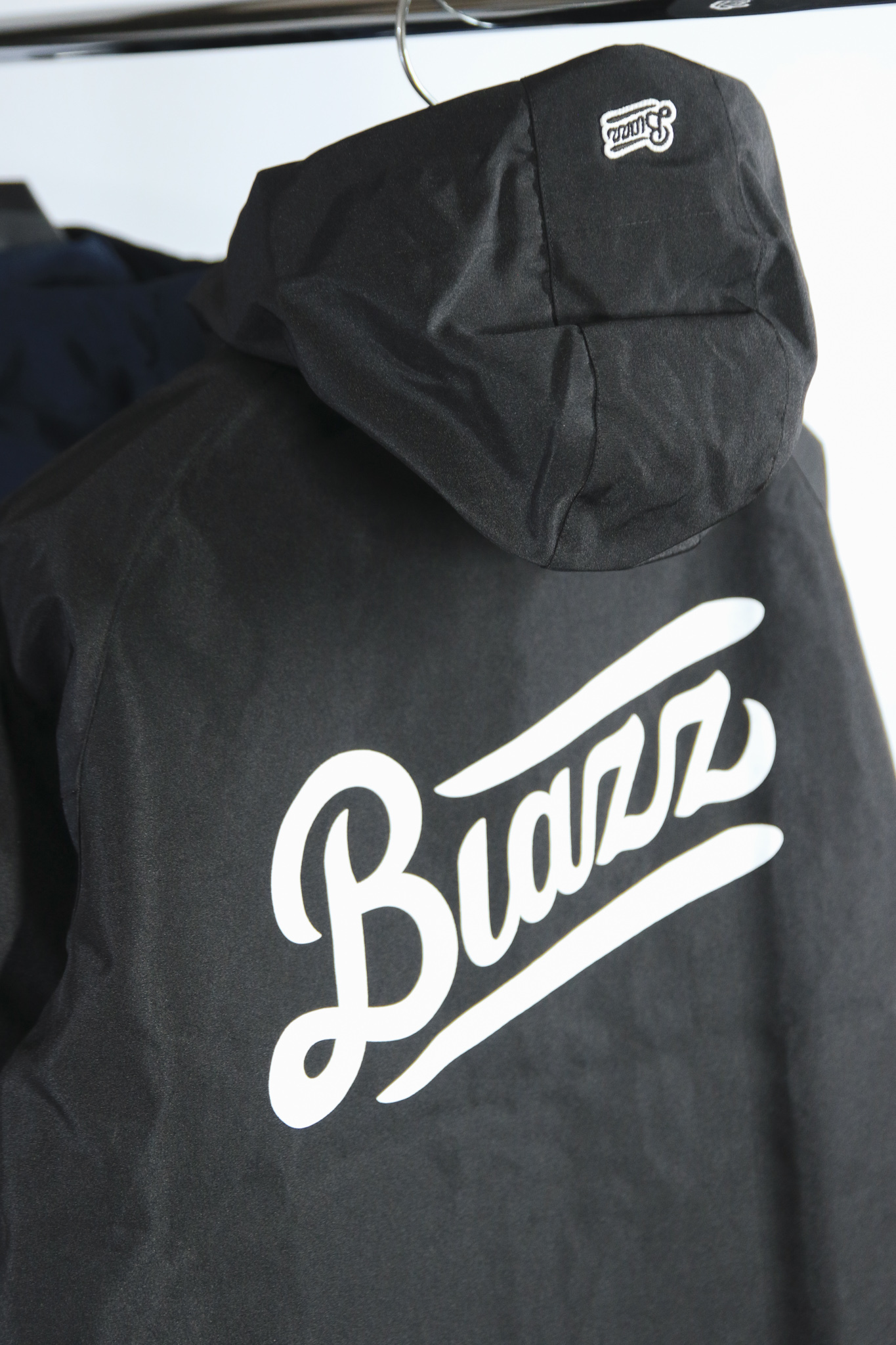 LOGO Water-repellent PARKA SHELL [BLACK]