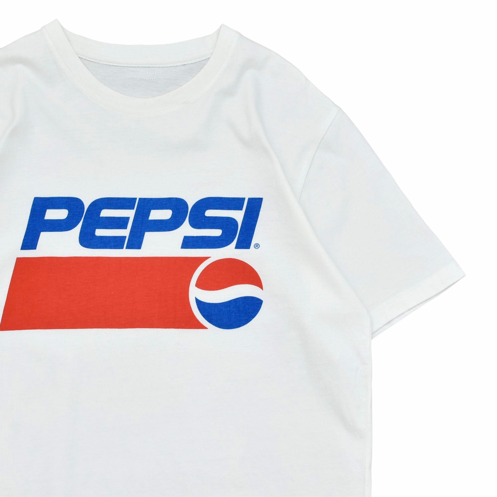 PEPSI COLA logo print T-shirt